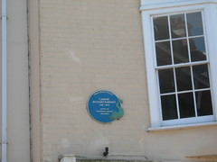 Photo of Richard Harris Barham blue plaque