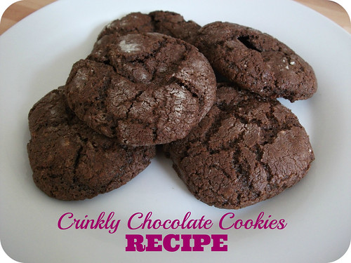 Crinkly Chocolate Cookies Recipe
