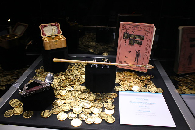 Treasures of the Walt Disney Archives exhibit at the 2013 D23 Expo