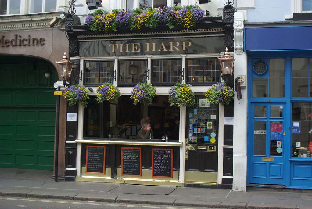Harp, Covent Garden, London. Formerly The Welsh Harp