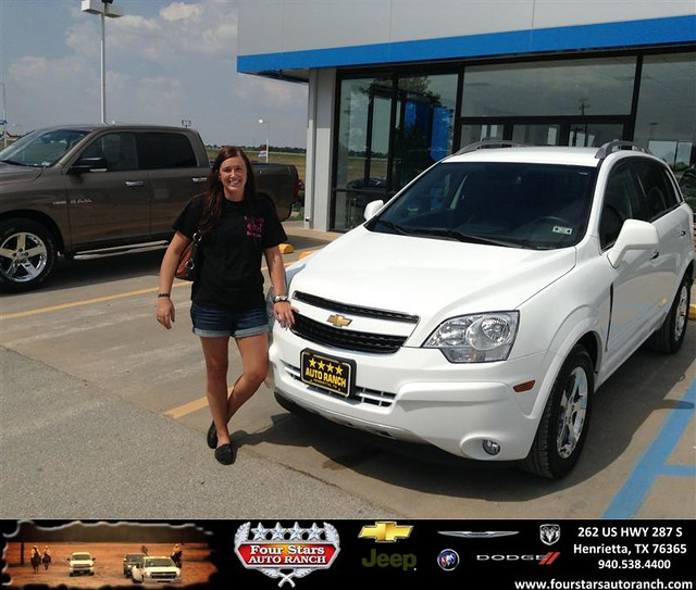 thank you to donna mcewen on your new 2013 chevrolet captiva sport fleet from dewayne aylor and. Black Bedroom Furniture Sets. Home Design Ideas