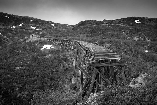 White Pass Yukon Railroad Bridge