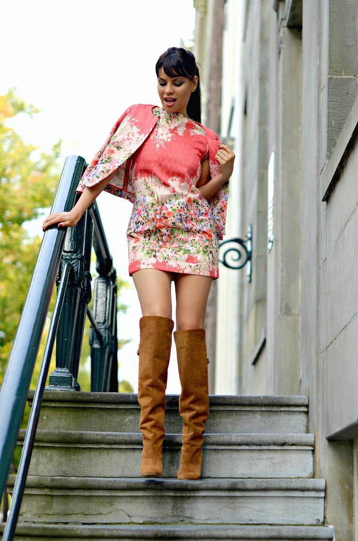 DSC_1401 supertrash Dahlia dress,H&M over the knee paris collection boots