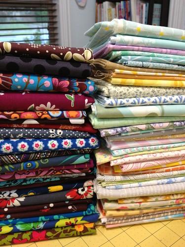 Fractured quilt fabrics 2