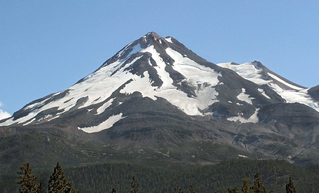 Glaciers on Mt. Shasta