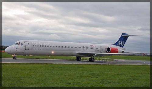 SE-DMB McDonnell Douglas MD81 SAS Scandinavian Airlines