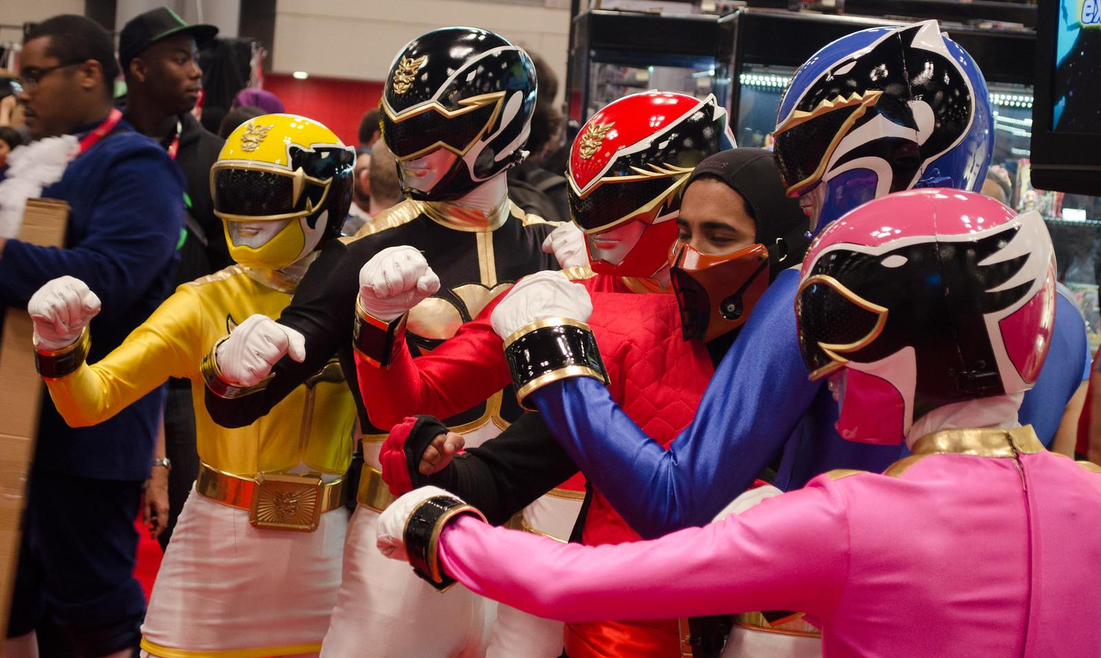 Power Ranger Cosplay