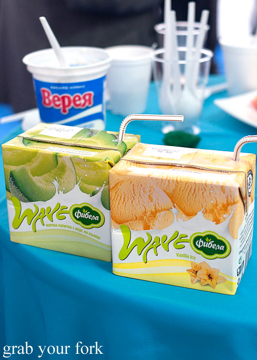 honeydew milk vanilla ice milk, United Milk Company, Plovdiv, Bulgaria