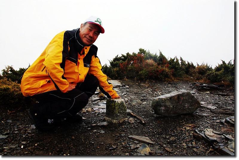 南湖北山山頂(Elev. 3536 m) 1