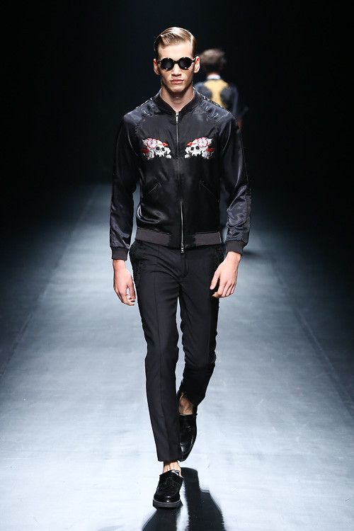 SS14 tokyo CHRISTIAN DADA011_Justin Sterling(Fashion Press)
