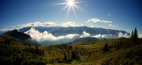 panorama sun alps nature clouds switzerland day patrick semmler eos5dmarkiii