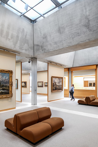 new wood haven building art museum architecture concrete louis university gallery panel centre skylight modernism exhibition collection kahn late british yale partition diffuse institution