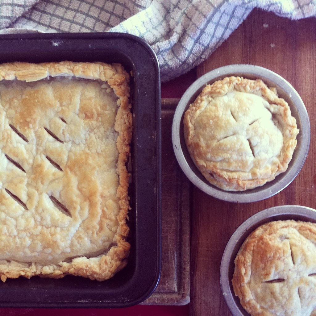 Mince and Lentil Pie recipe