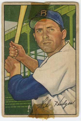 1952 Bowman Gil Hodges