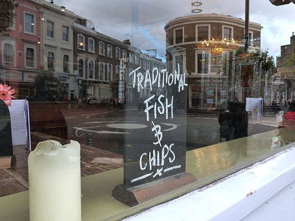 traditionnal fish and chips