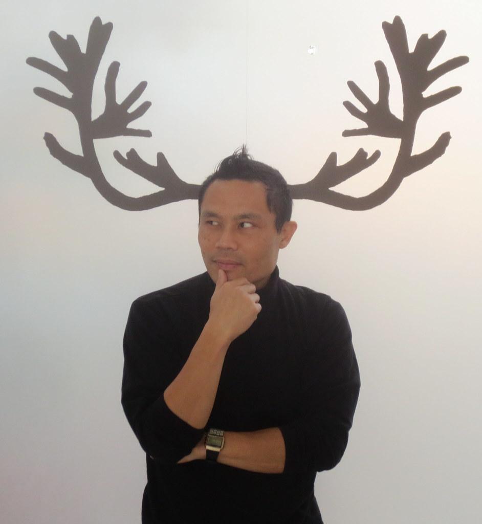 rik's reindeerselfie at Cal Academy