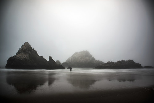 Ghost at Seal Rocks by ericwagner