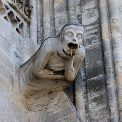 Gargoyle on Bayeux Cathedral