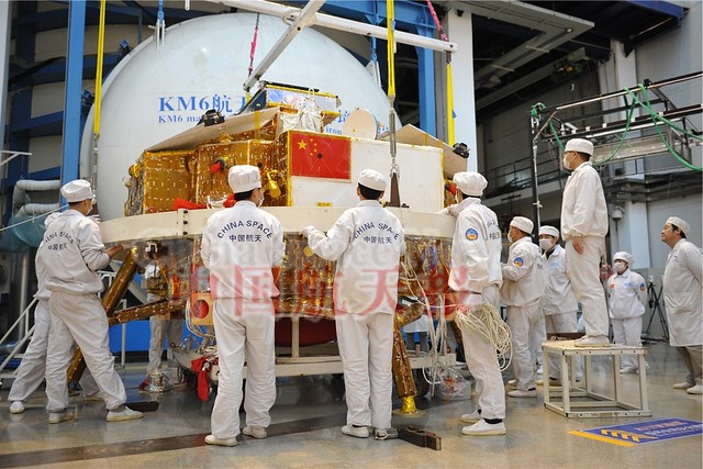 Static Vacuum testing of Chang'e-3