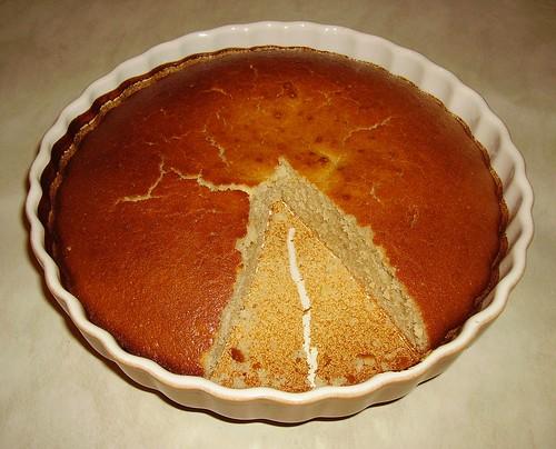 Gâteau au yaourt, moins une part