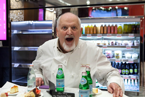Chef Michel Richard making a funny face