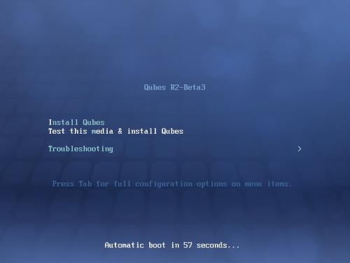 Qubes R2 Beta 3 #1