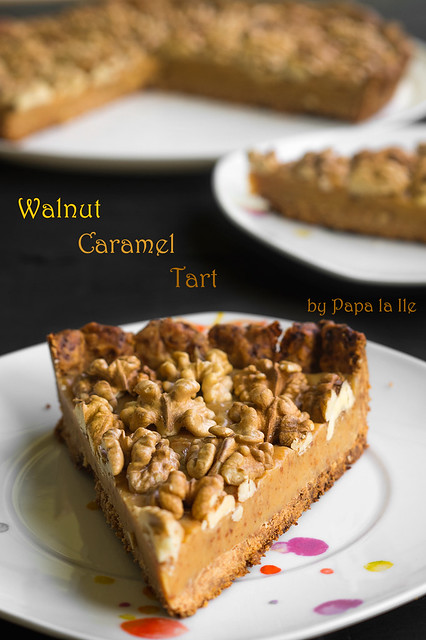 Walnut Caramel Tart (5)