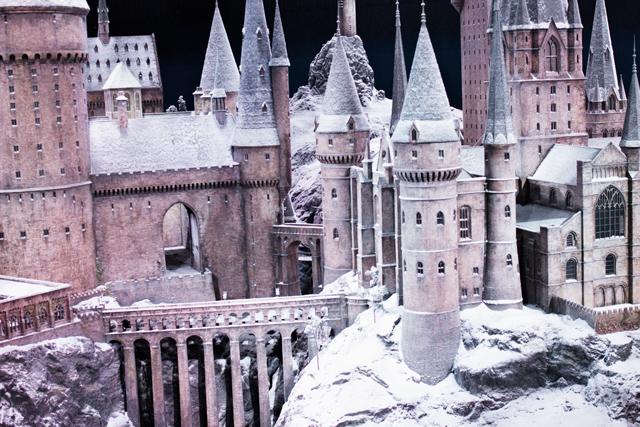 Hogwarts model replica Warner Brothers Studio tour
