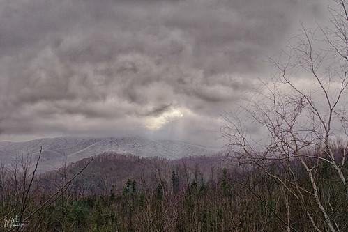 winter snow mountains weather blueridgemountains winterweather appalachians wnc etn nctnborder