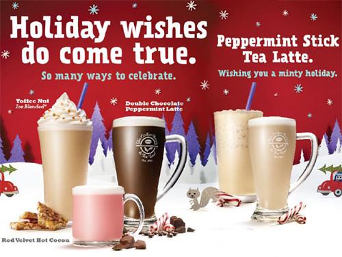 CBTL Christmas Beverages