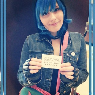 Call me ♥ #ikkicon #ramonaflowers