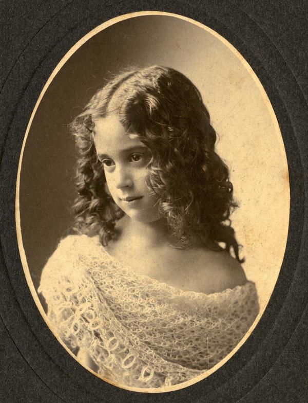 Koreshan LaReina Alice Bubbett (later Burnham) in Estero, Florida