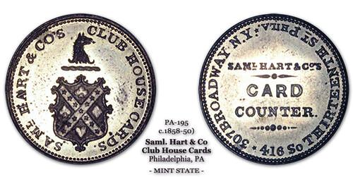 Samuel Hart token PA 195 example 2