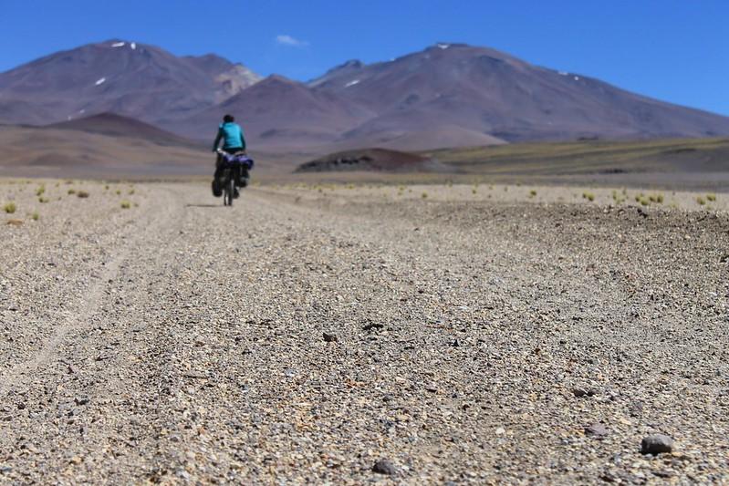 Heading to Volcan Antofalla