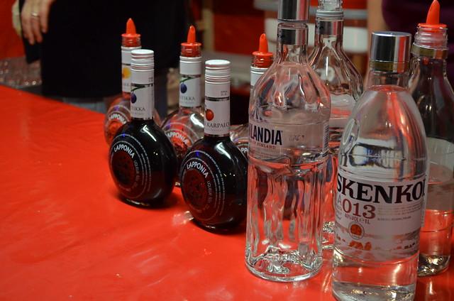 Lucia Weihnachtsmarkt Finnish alcohol