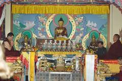 HH 17th Gyalwa Karmapa Trinley Thaye Dorje and HH 14th Kunzig Shamar Rinpoche