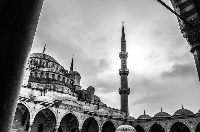 The blue mosque (In Explore 16-01-2014)
