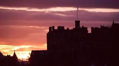 winter sunset, Edinburgh 04
