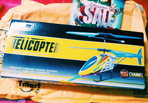 unboxing my RC helicopter from Tmart