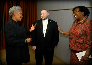Brazile and Tom Capps MLK Event