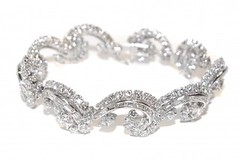 DIAMOND SCROLL BRACELET