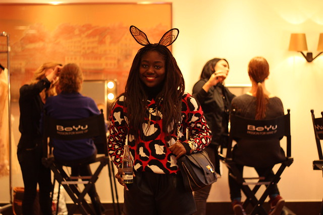 Berlin Fashion Week VIP Beauty Lounge Lois Opoku Januar 2014 lisforlois