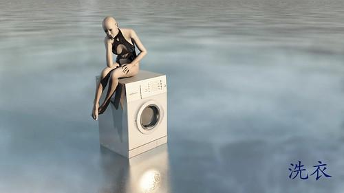 laundry service by Dark Bellatryx