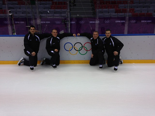 Four American Officials at Sochi 2014