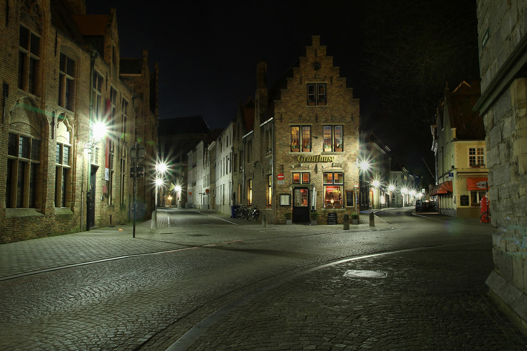 Dans les rues de Bruges