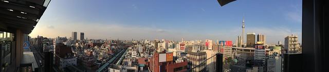 iPhone5sで撮影 東向島~浅草~上野 2014年3月4日