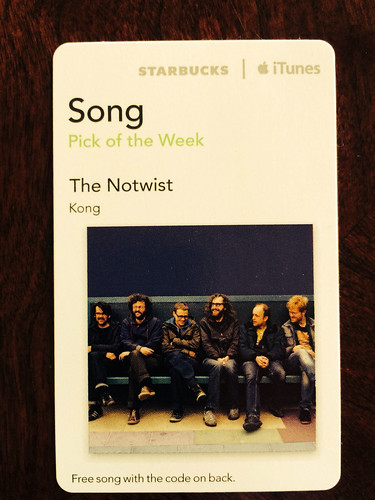 Starbucks iTunes Pick of the Week - The Notwist - Kong