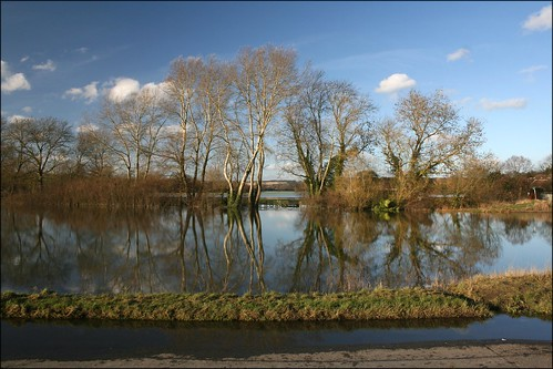 Floods at Cookham Moor