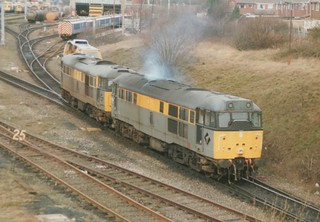 Civil Engineers 'Dutch' Class 31/1's, 31190 & 31144