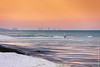 Braving Warm Waters at Seaside